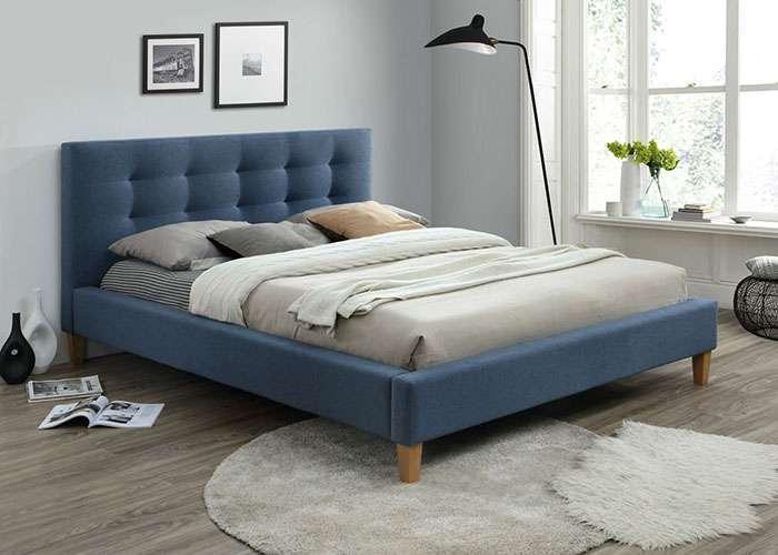 בלתי רגיל מיטה זוגית מרופדת - דגם טקסס - פולירון פתח תקווה - סליפ דיפו WM-12